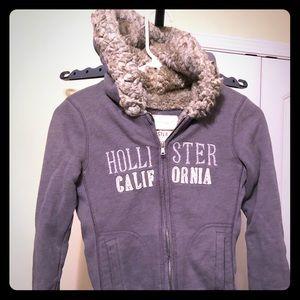 Hollister sweater jacket